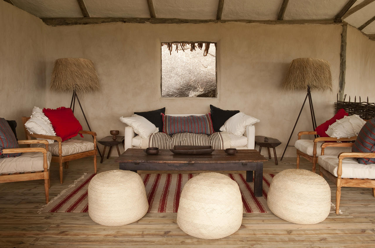 Styled By Jo Cooke With Furniture Made Entirely In Tanzania Her Husband George Lamai Has A Unique And Substantial Look