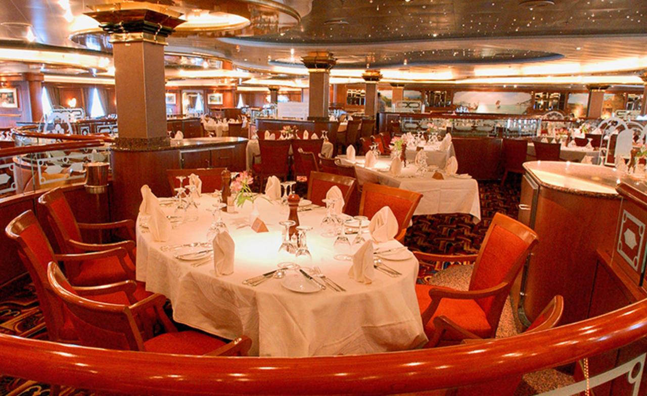 Rigoletto Dining Room Sea Princess