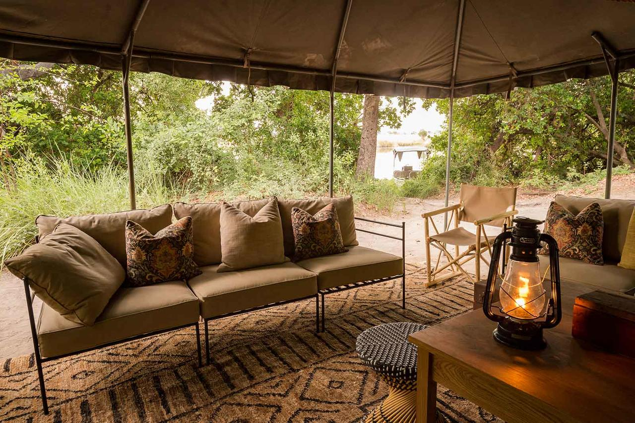 Photos - Xobega Island Camp is a piece of paradise in the great water wonderland that is the Okavango Delta. Just off the mainland of Moremi Game Reserve