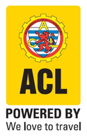 ACL powered by We love to travel logo