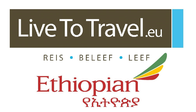 Live To Travel i.s.m. Ethiopian Airlines logo