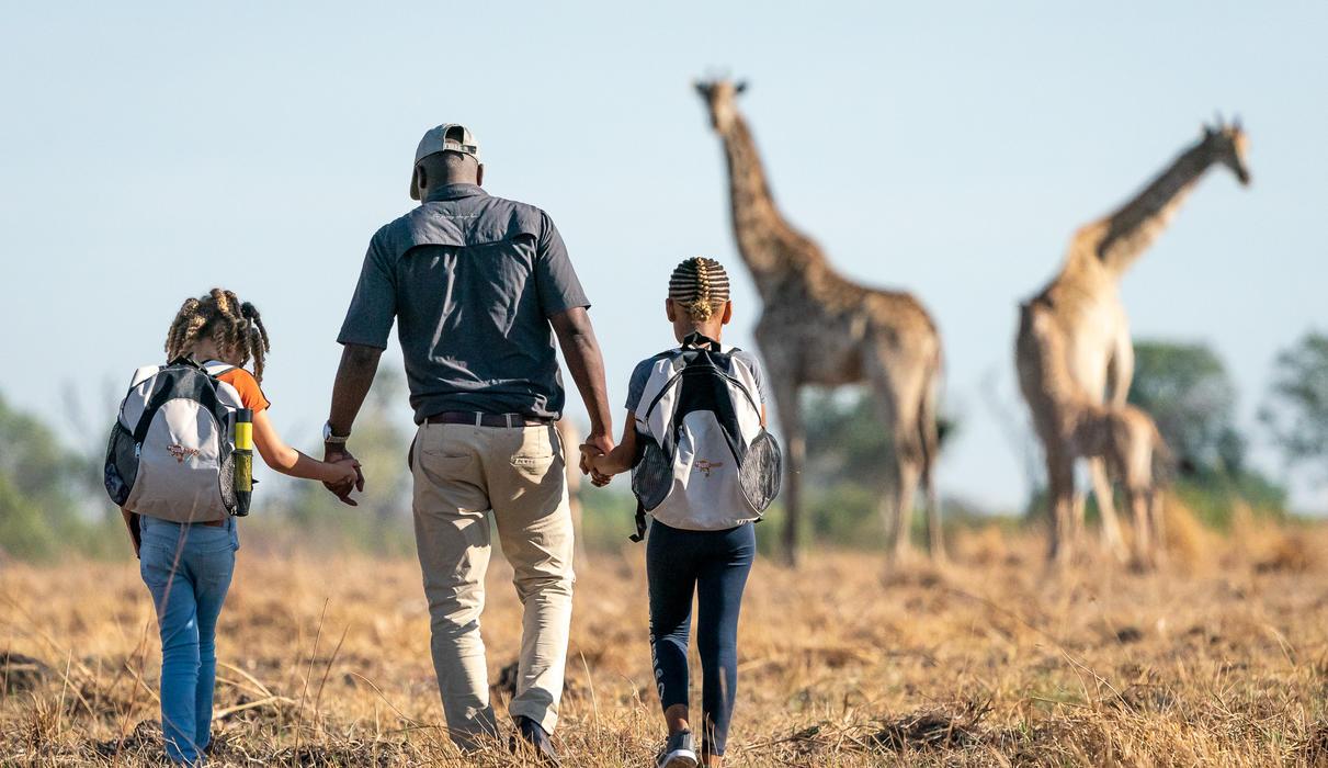 Children will have an unforgettable safari at Seba