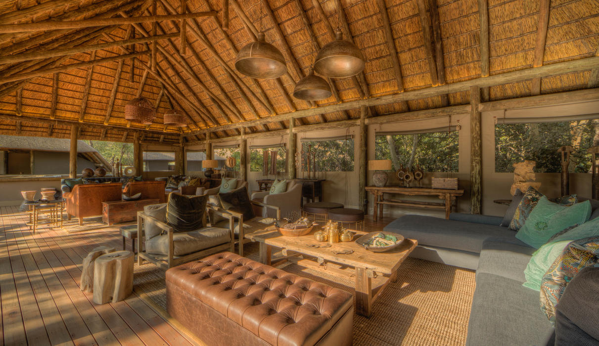 Take some time to enjoy the camp and relax in our comfortable guest lounge