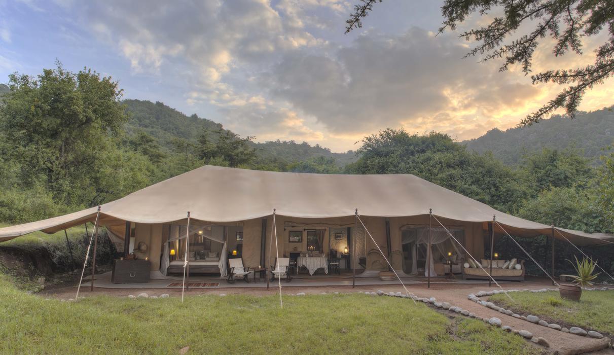 Family Tent Exterior Plan