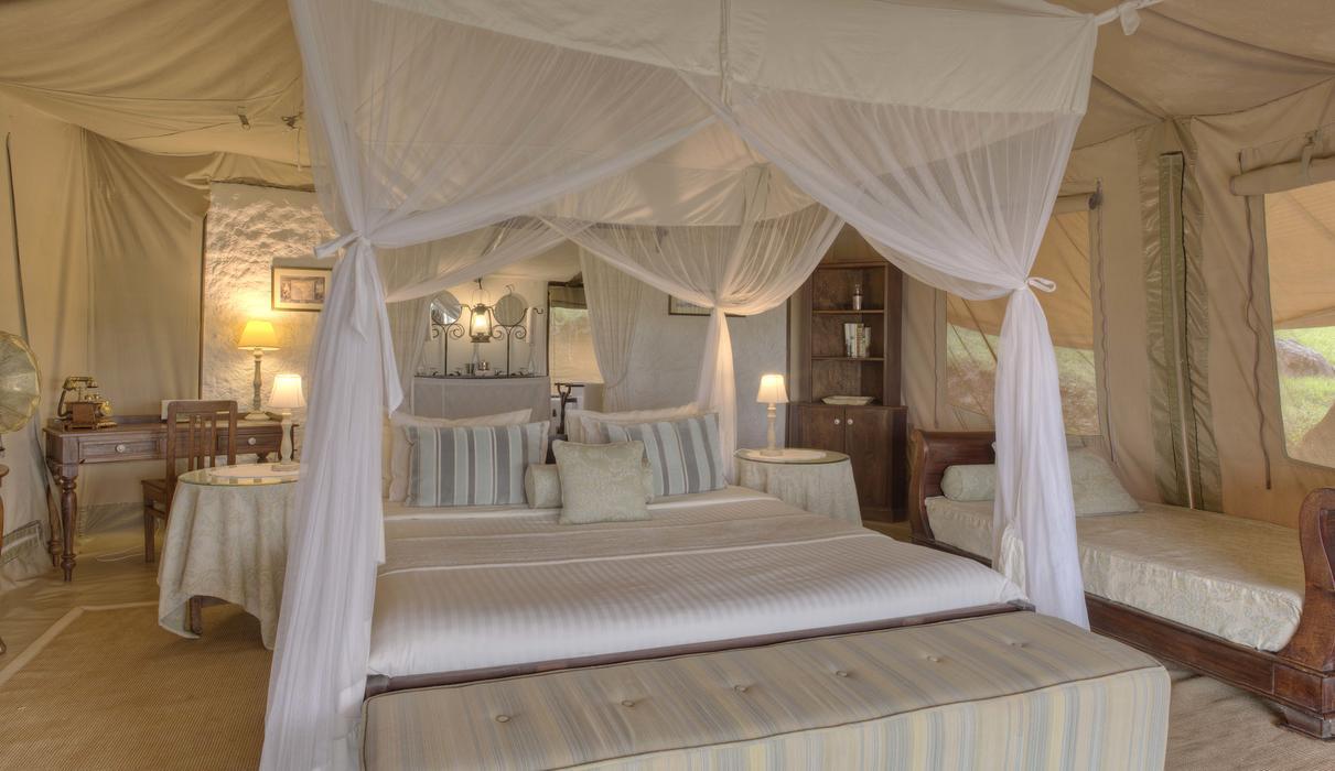 Cottar's 1920s Safari Camp Honeymoon Tent