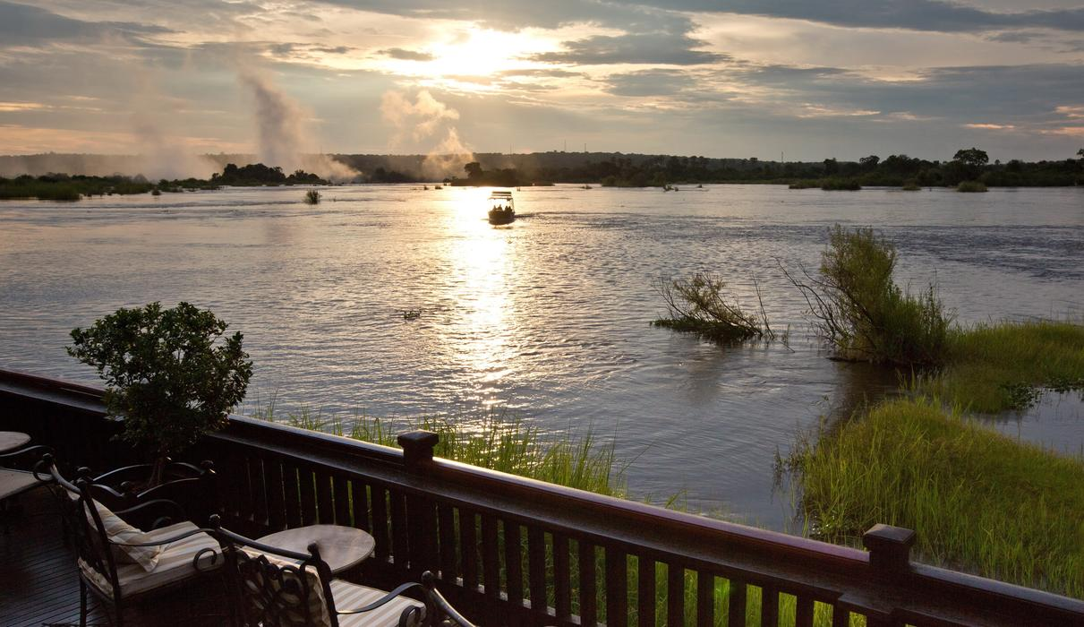 Spectacular Zambezi River sunsets