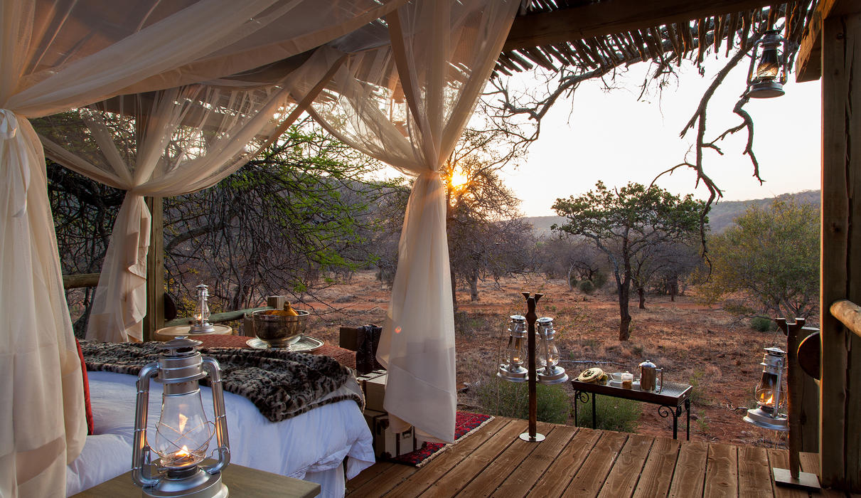 Guests are immersed in a naturally African experience, still enjoying pure luxury