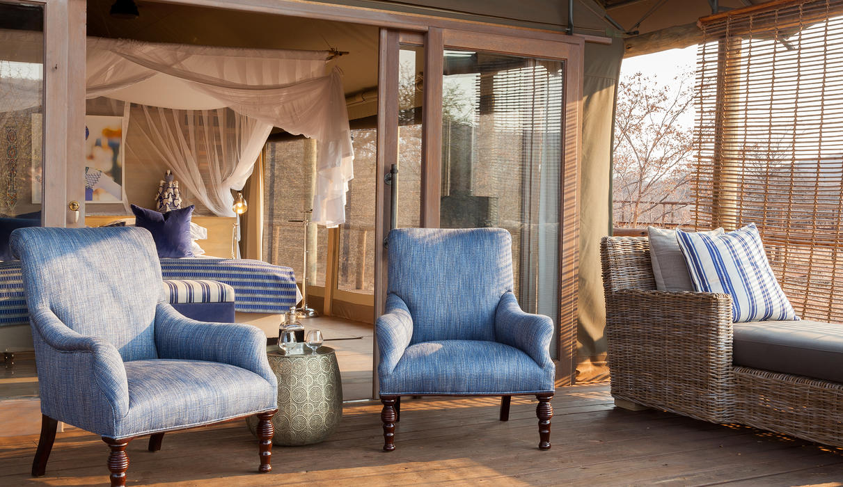 Each suite enjoys luxurious comforts, while surrounded by the beauty of the Lapalala plains and valleys