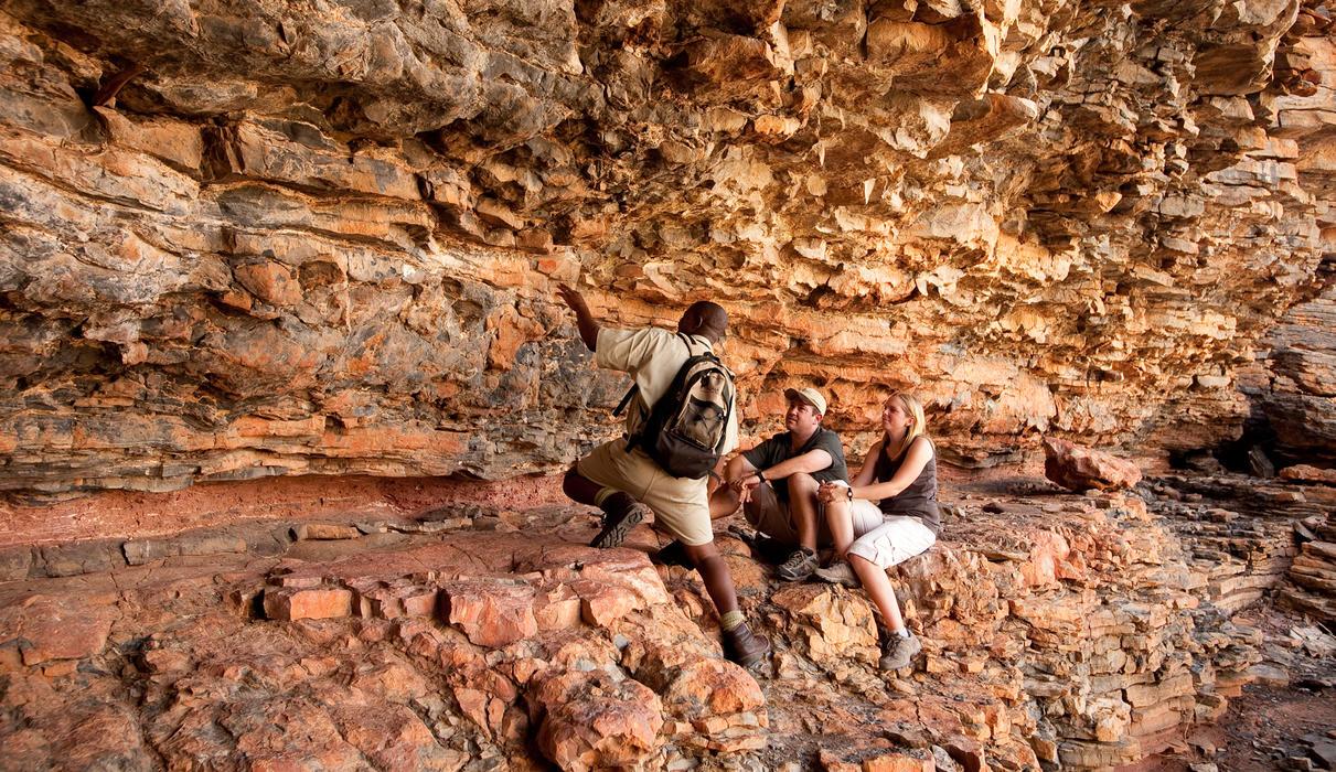Desert experience - San rock art
