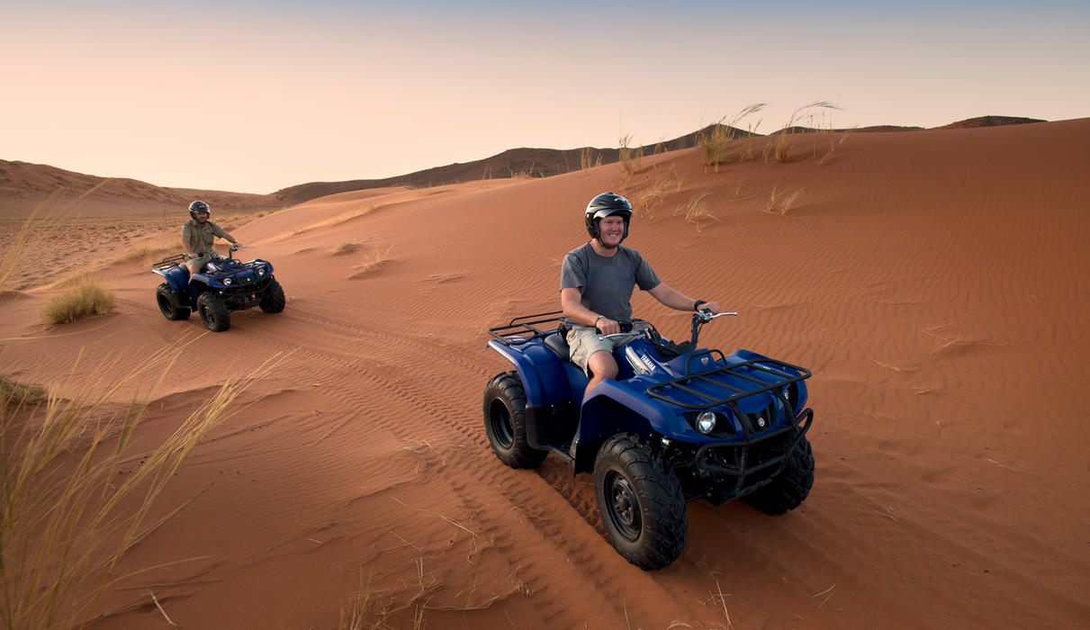 Desert spirit experience - quad biking