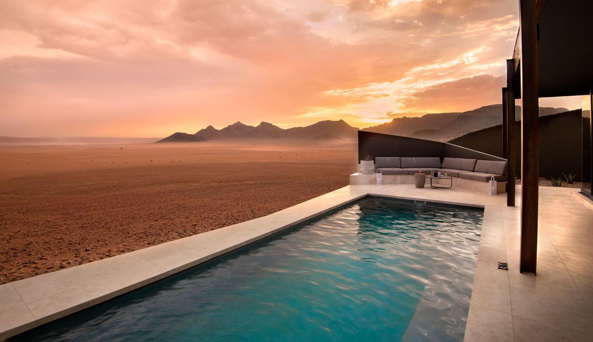 Guest suite - plunge pool