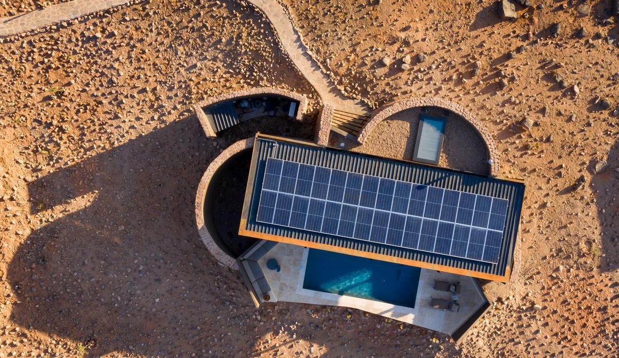 Guest suite - solar panels