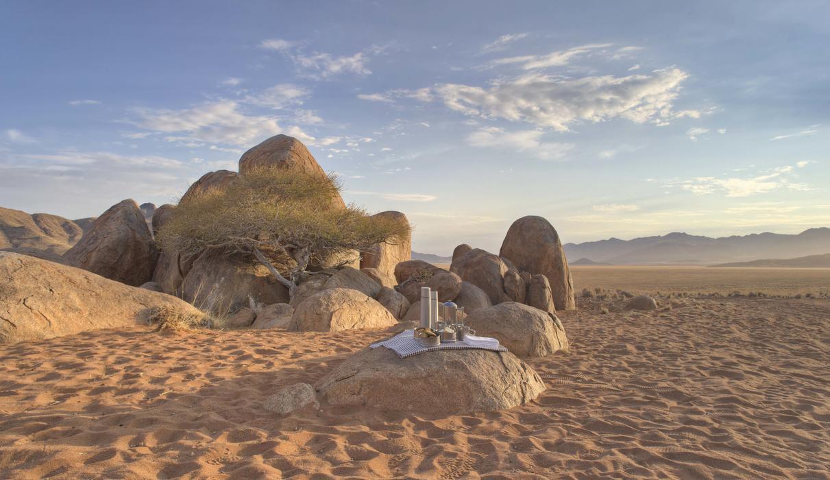 Drink Stop in the Desert