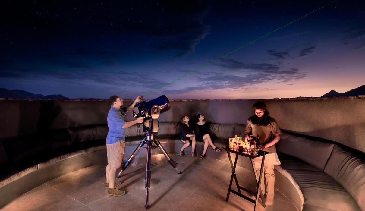 Stargazing astronomer telescope