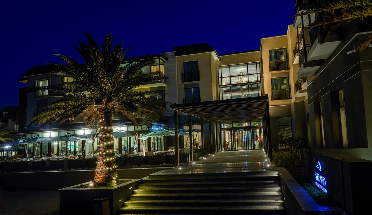 Strand Hotel Swakopmund @ night