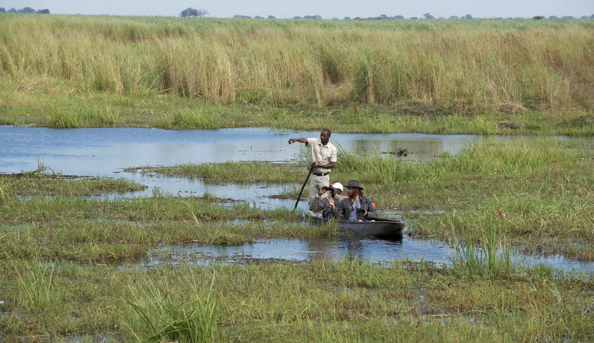 Unique Mokoro Safari