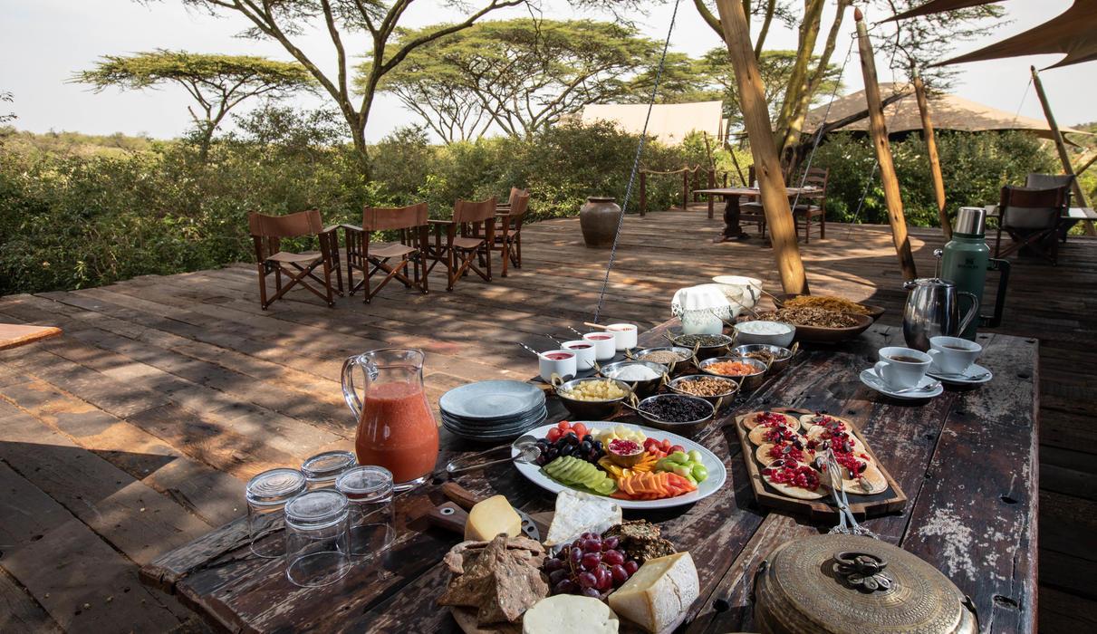 Breakfast at Mara Nyika