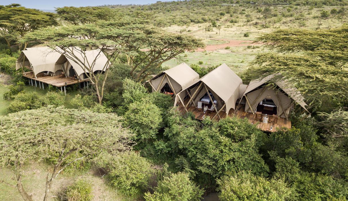 Mara Nyika Aerial View