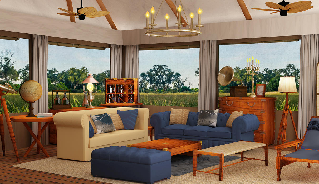 Retaining the authentic classic safari style, the new tents and main area will provide a luxury experience with a touch of historical charm