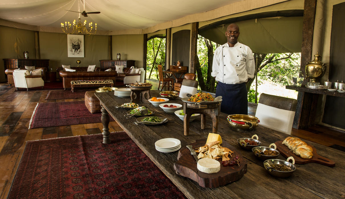 Mara Plains Lunch