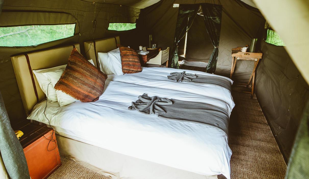 Tent - interior