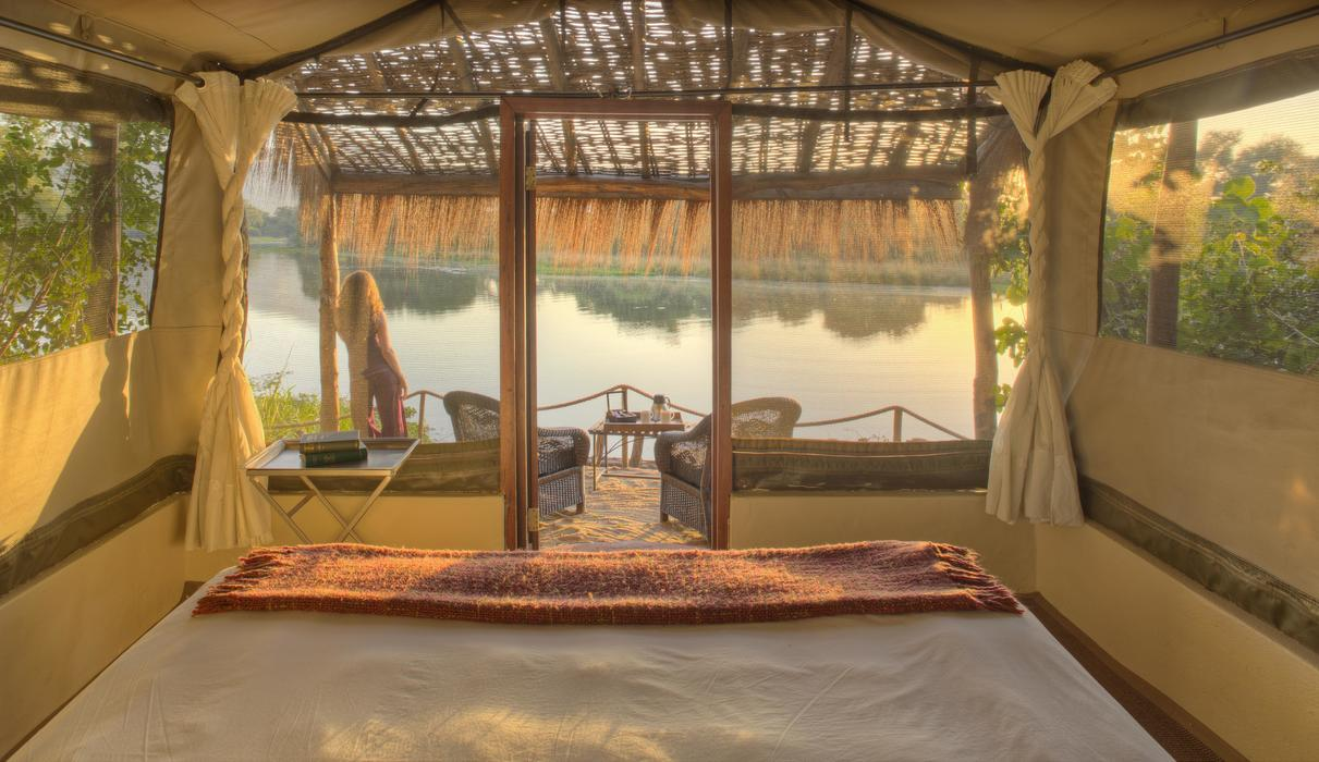 Tranquility and relaxation await at Time + Tide Chongwe River Camp