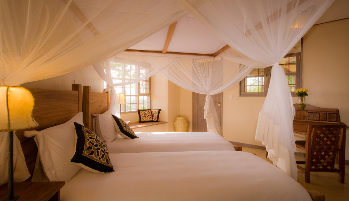 Twin Bedroom in a Machweo Cottage