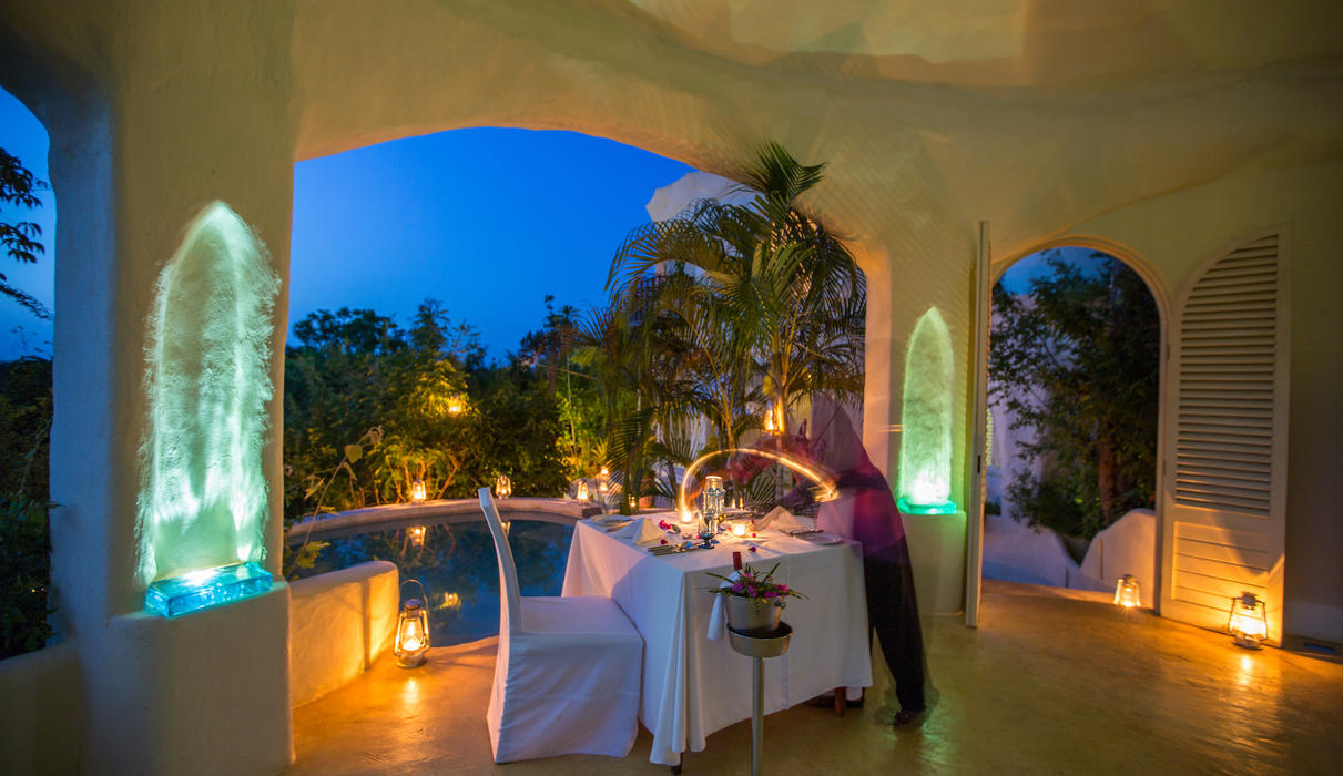 Private dinner at a Pavilion