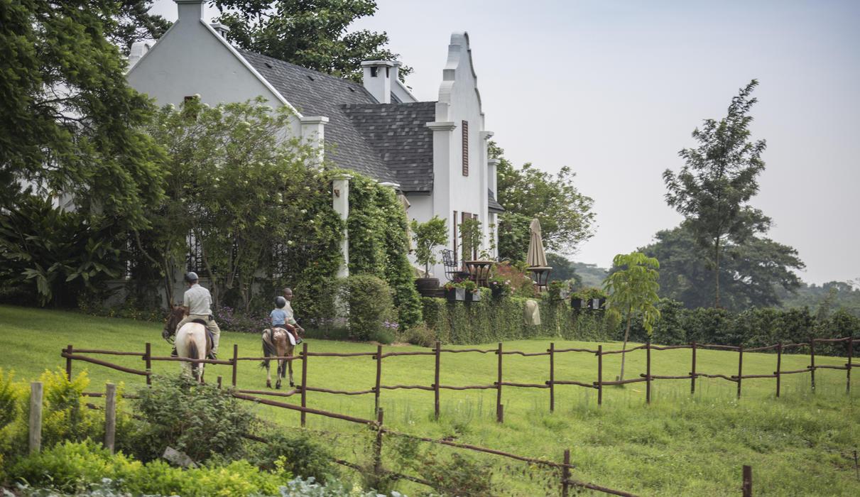 Elegant accommodations set among manicured gardens