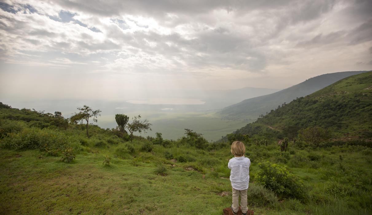 The breath-taking Ngorongoro Crater
