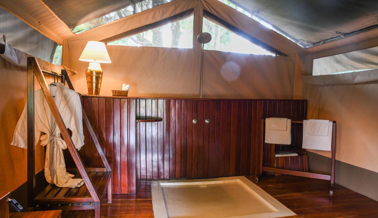 Private Camp bathroom