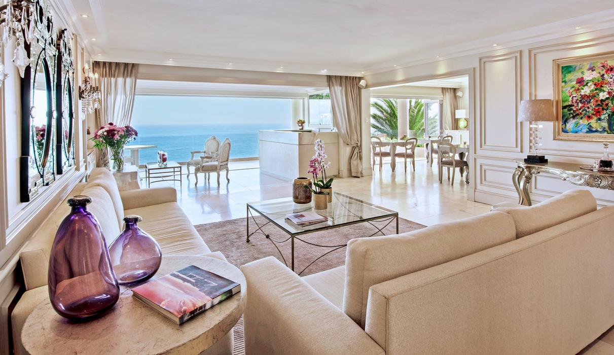 Includes Dining Area, Bar and Balcony with expansive Sea views