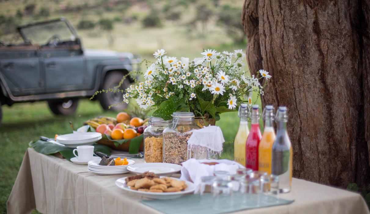 The best way to start your day on safari at Sirikoi