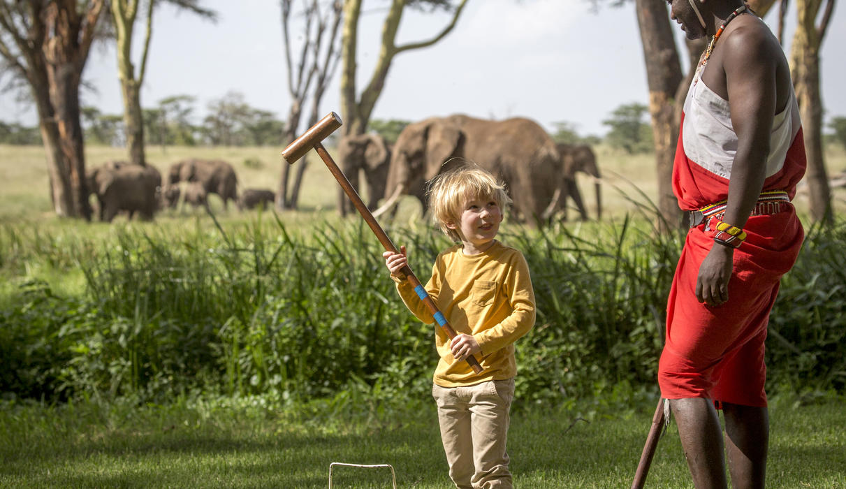 An ideal lodge for families with children, with plenty of space to explore freely
