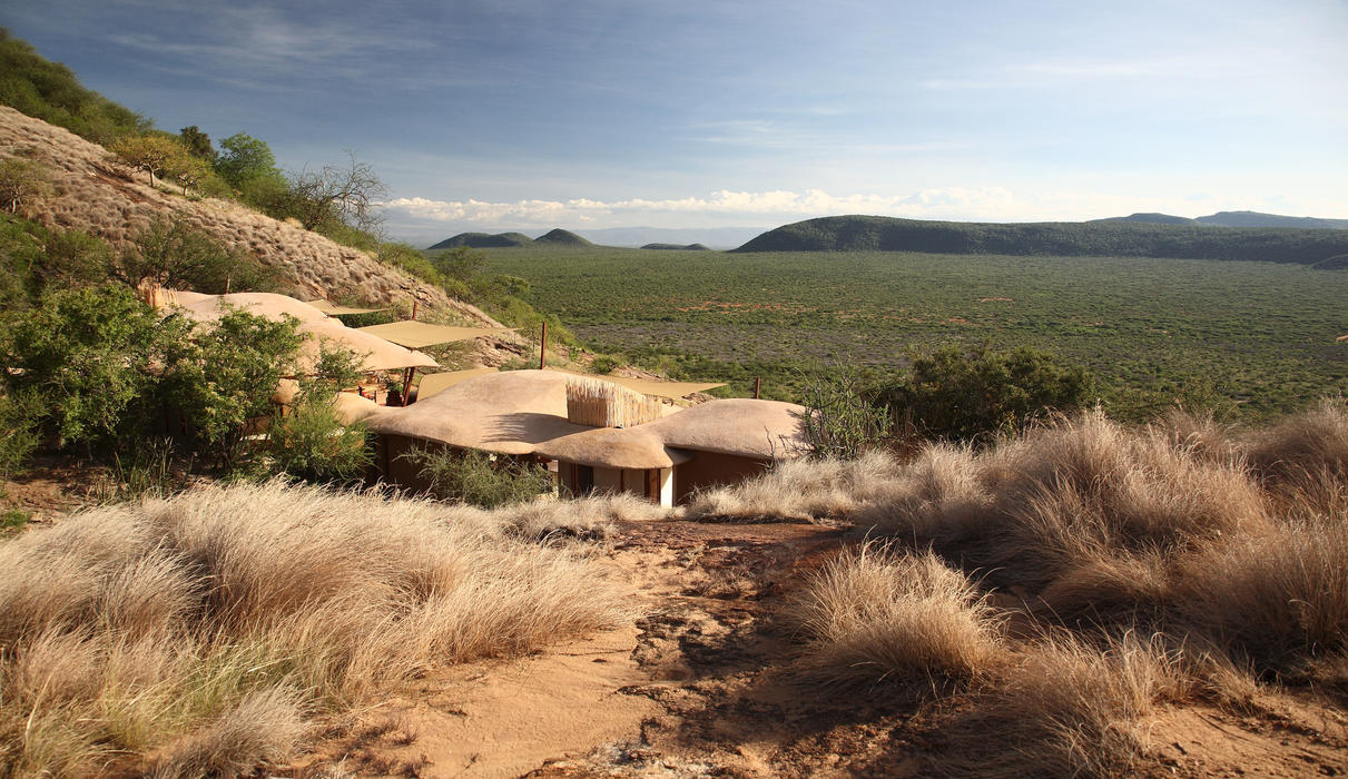 Kalama Conservancy from one of the villas