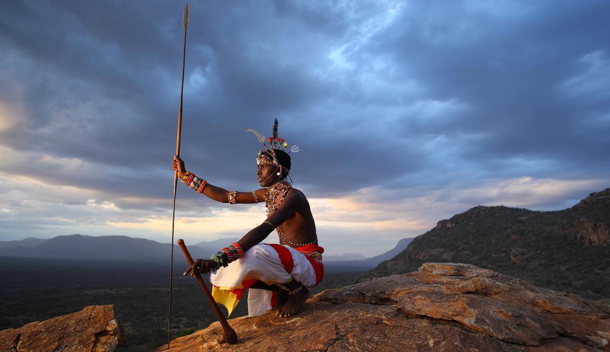 A Saruni Samburu guide