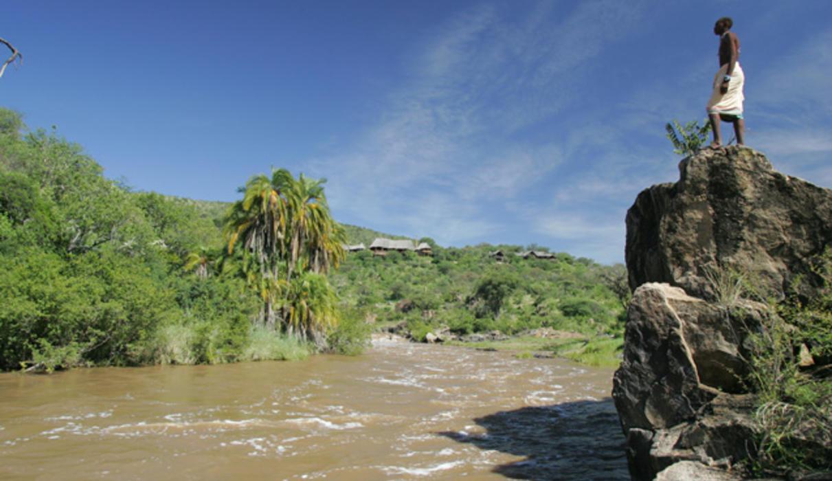 Overlooking the Ewaso Nyiro River