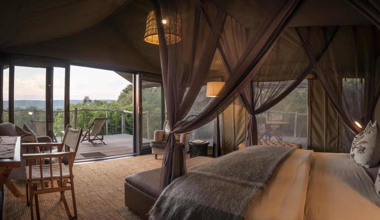 HillsNek Tent Interior