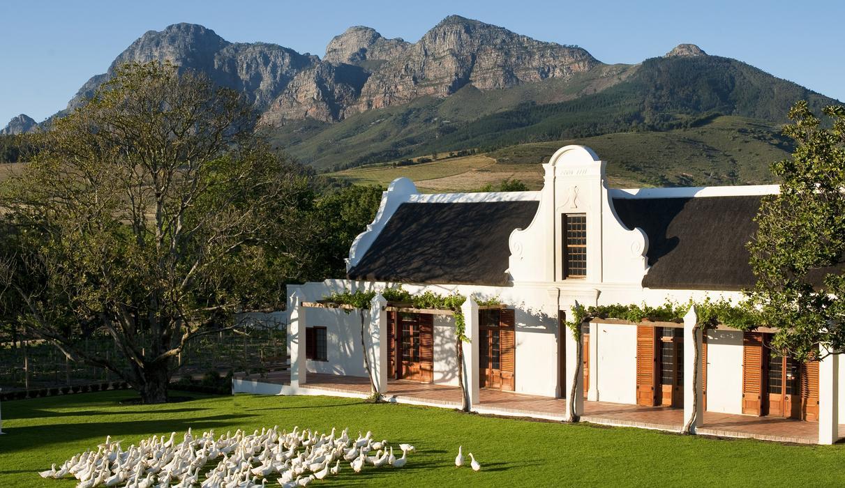 The Cape Dutch Manor House