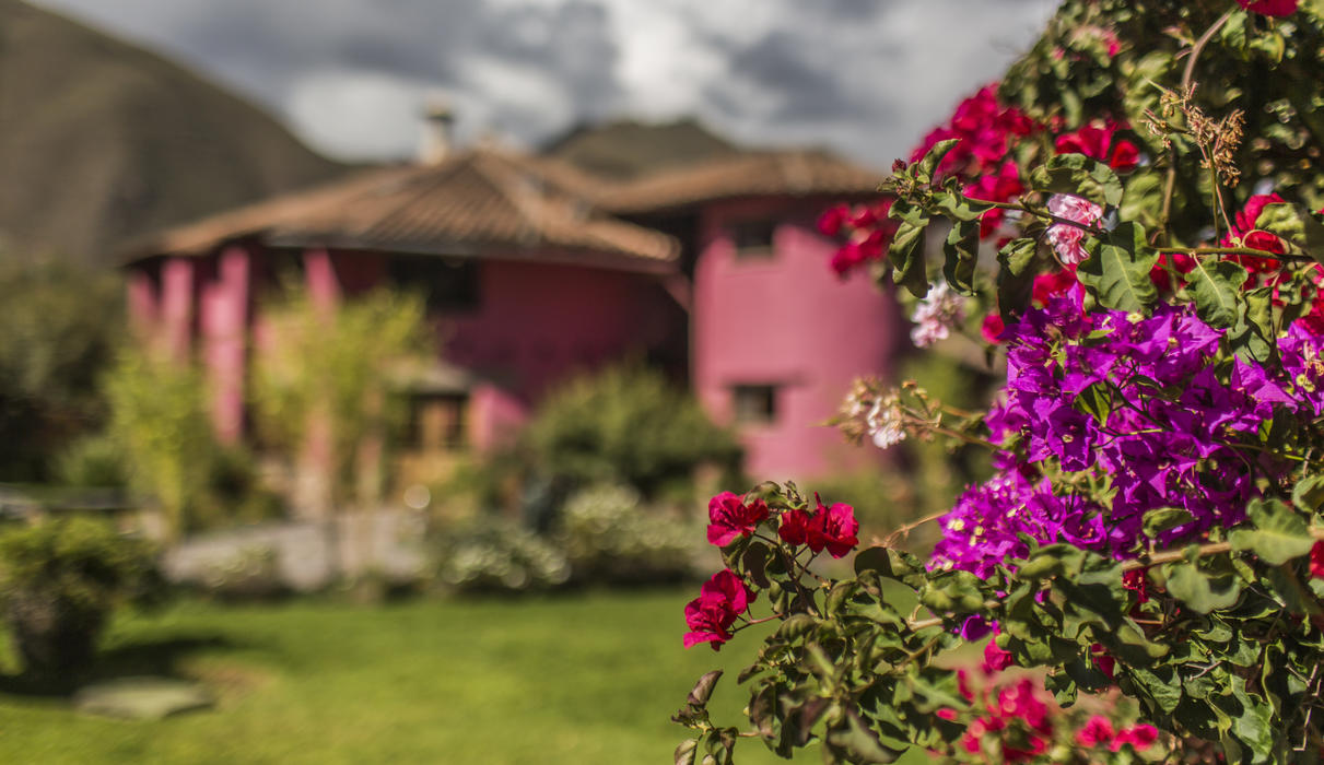 Sol y Luna charm is about gardens and quiet atmosphere