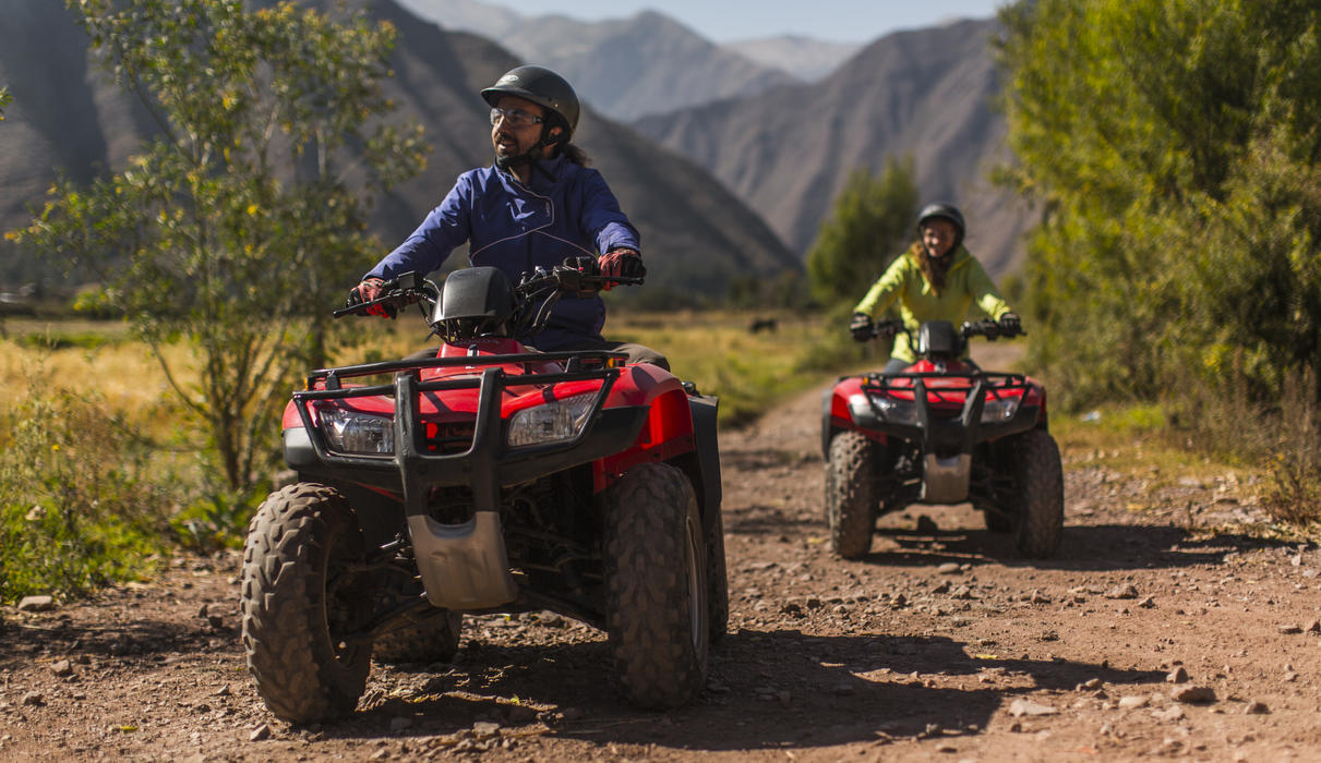 Guided tours to the Sacred Valley by ATV