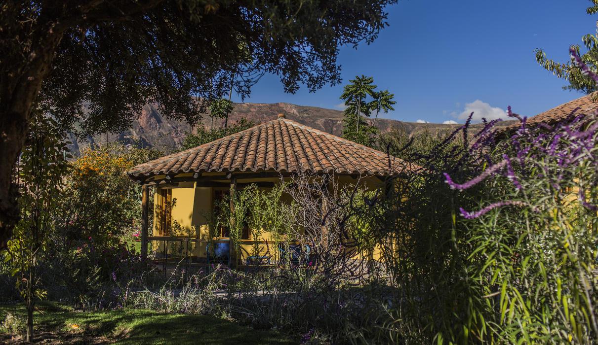 The Sol y Luna Casitas are surrounding by 360° of gardens