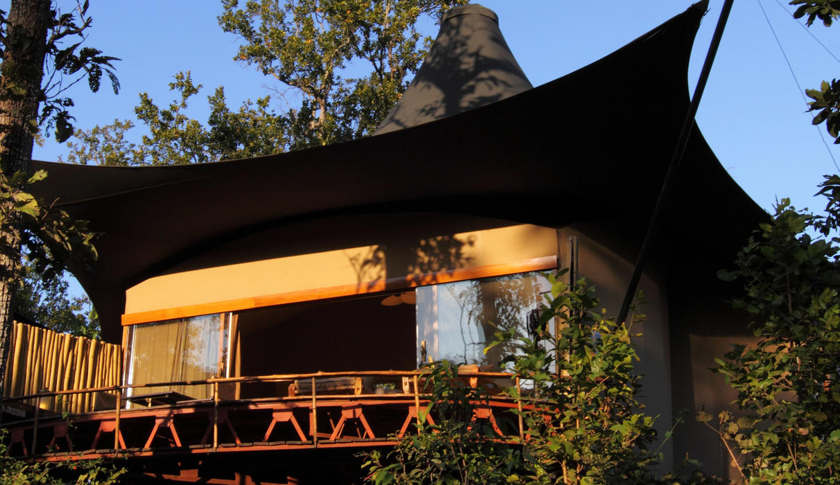 Contemporary tented camp