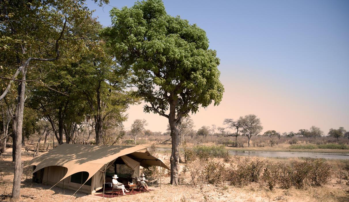 Selinda Explorers Camp Tent Exterior