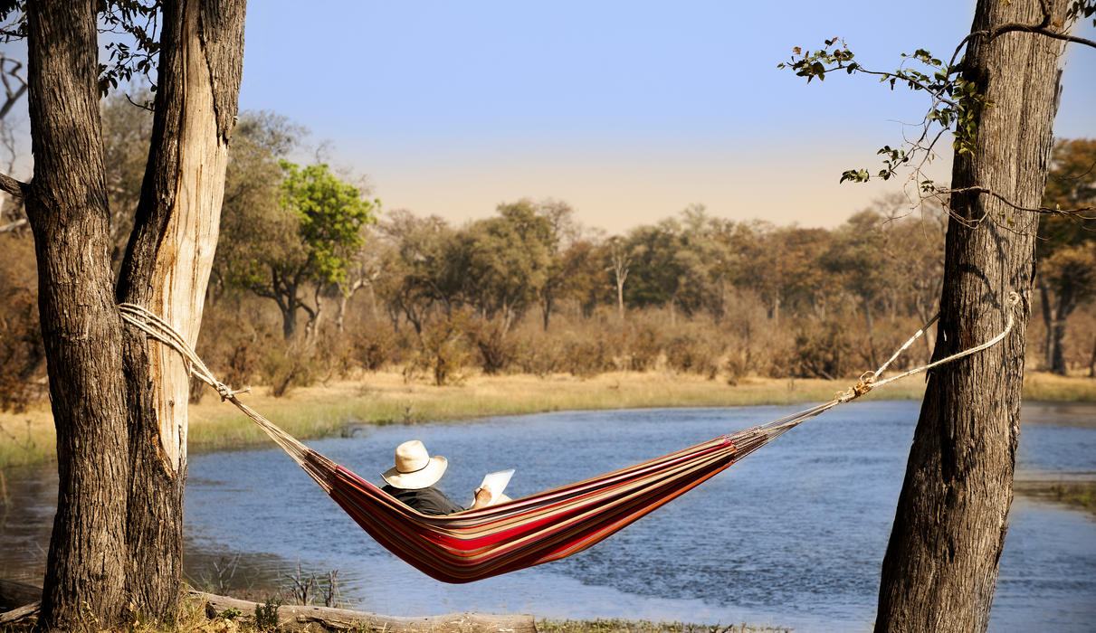 Relaxing along the Selinda Spillway