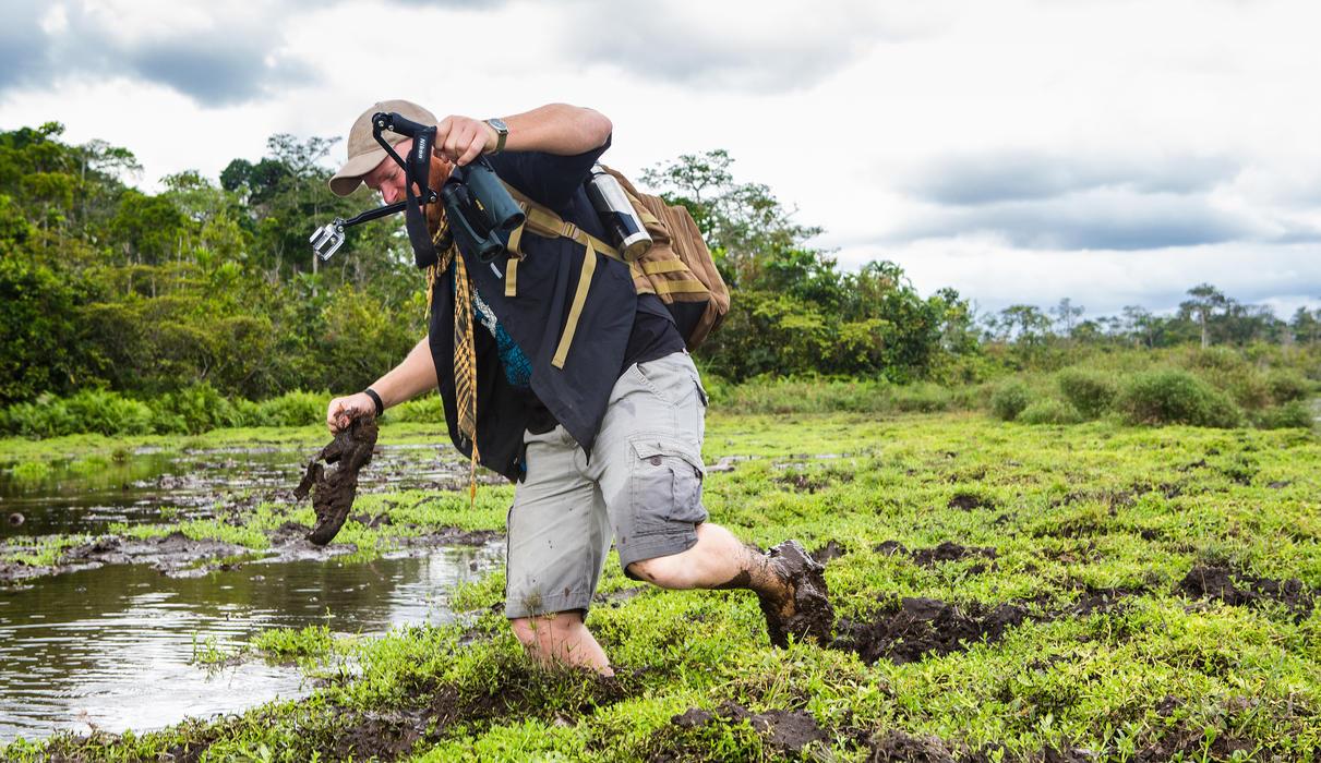 Adventure walk - get your feet muddy
