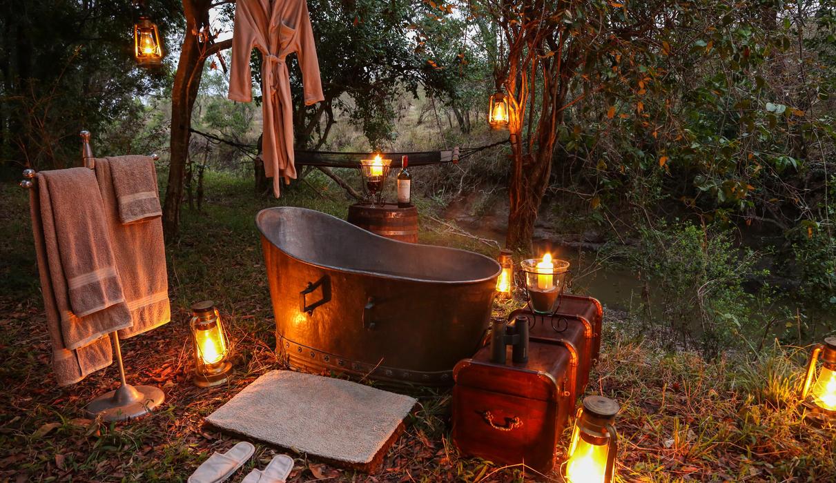 Bush Bath