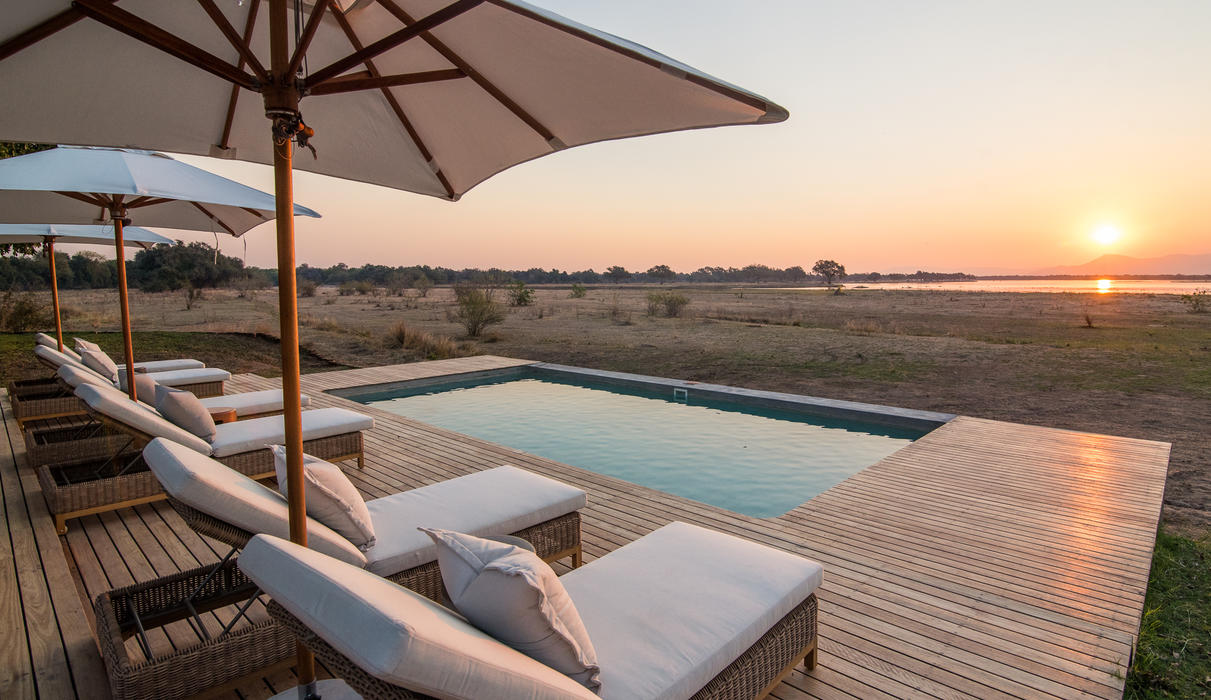 Chikwenya's pool with a view