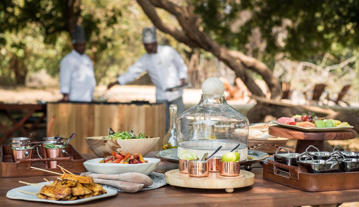 Delicious brunch offerings are a safari institution