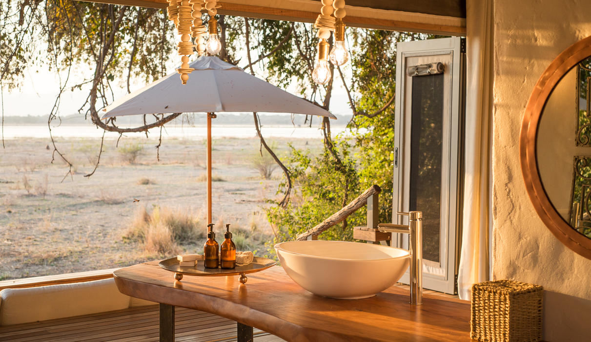 A bathroom with a view goes without saying